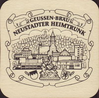 Beer coaster privatbrauerei-geussen-brau-1-zadek-small
