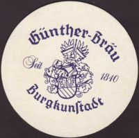 Pivní tácek privatbrauerei-gunther-1-small