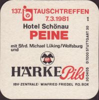 Pivní tácek privatbrauerei-harke-13-zadek-small