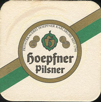 Pivní tácek privatbrauerei-hoepfner-1