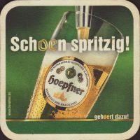 Pivní tácek privatbrauerei-hoepfner-17-zadek-small