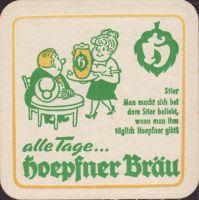 Pivní tácek privatbrauerei-hoepfner-18-zadek-small