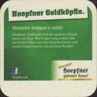 Pivní tácek privatbrauerei-hoepfner-19-zadek-small