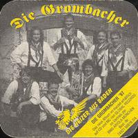 Pivní tácek privatbrauerei-hoepfner-2-zadek