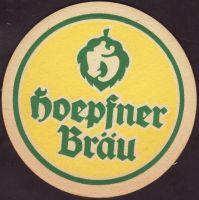 Pivní tácek privatbrauerei-hoepfner-20-oboje-small