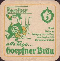Pivní tácek privatbrauerei-hoepfner-22-zadek-small