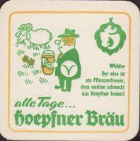 Pivní tácek privatbrauerei-hoepfner-23-zadek-small