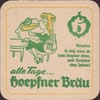 Pivní tácek privatbrauerei-hoepfner-24-zadek-small