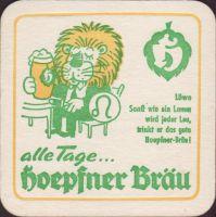 Pivní tácek privatbrauerei-hoepfner-25-zadek-small