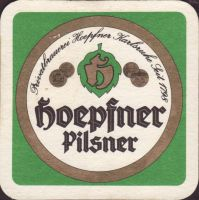 Pivní tácek privatbrauerei-hoepfner-27-small