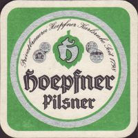Pivní tácek privatbrauerei-hoepfner-28-small