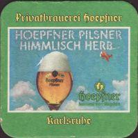 Pivní tácek privatbrauerei-hoepfner-28-zadek-small