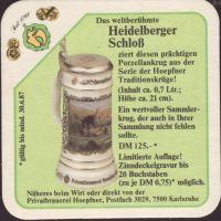 Pivní tácek privatbrauerei-hoepfner-32-zadek-small
