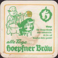 Pivní tácek privatbrauerei-hoepfner-33-zadek-small