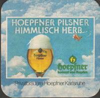 Pivní tácek privatbrauerei-hoepfner-5-zadek-small