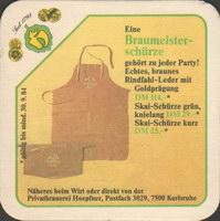 Pivní tácek privatbrauerei-hoepfner-6-zadek-small