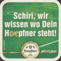 Pivní tácek privatbrauerei-hoepfner-8-zadek-small