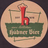 Pivní tácek privatbrauerei-hubner-5-oboje-small