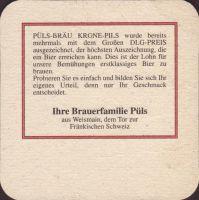 Beer coaster puls-brau-35-zadek-small