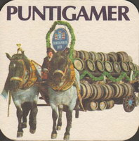 Beer coaster puntigamer-30-zadek-small