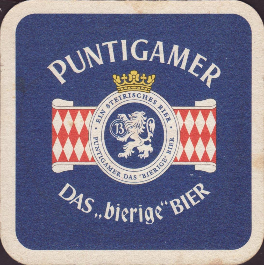 Pivní tácek puntigamer-4