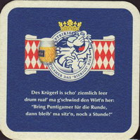 Beer coaster puntigamer-40-zadek-small
