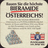 Beer coaster puntigamer-71-zadek-small