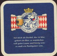 Beer coaster puntigamer-85-zadek-small
