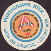 Beer coaster puntigamer-97-zadek-small