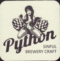 Beer coaster python-1-small