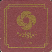 Beer coaster r-adelaide-casino-1