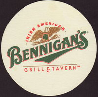 Beer coaster r-bennigans-1-oboje-small