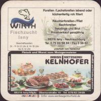 Beer coaster r-berggasthaus-haldenhof-2-zadek-small