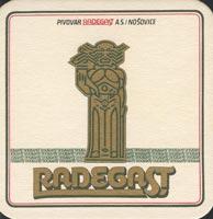 Pivní tácek radegast-1