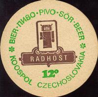 Pivní tácek radegast-27