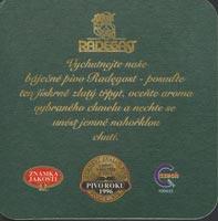 Pivní tácek radegast-5-zadek