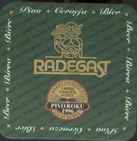 Pivní tácek radegast-5