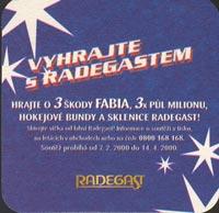 Pivní tácek radegast-8-zadek