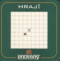 Pivní tácek radegast-9-zadek