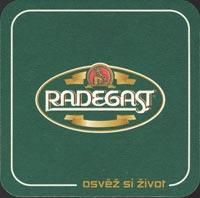 Pivní tácek radegast-9