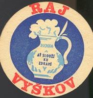 Beer coaster raj-vyskov-1