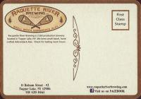 Pivní tácek raquette-river-1-zadek-small