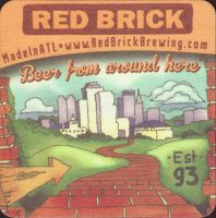 Beer coaster red-brick-1-small