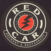 Beer coaster red-car-1-small