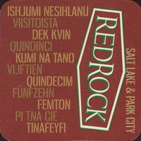 Beer coaster red-rock-2-zadek-small