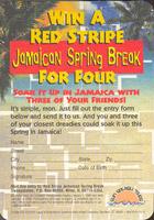 Pivní tácek red-stripe-10-zadek