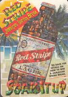 Pivní tácek red-stripe-10