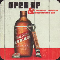 Beer coaster red-stripe-25-small