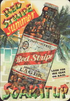 Beer coaster red-stripe-27-small