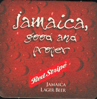 Pivní tácek red-stripe-5-zadek